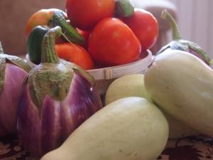Плодовете (зеленчуците) на лятото