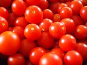 Първото ядливо растение, което отгледах - чери домати :)